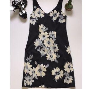 LOFT floral sheath dress sz6